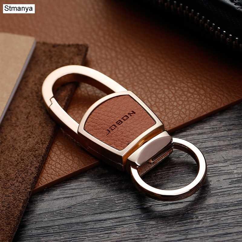 New Thương Hiệu Người Đàn Ông Phụ Nữ Móc Chìa Khóa Xe Hàng Đầu Eo treo Chìa Khóa Xe Vòng Kim Loại Keychain Móc Chìa Khóa Xe Món Quà Tốt Nhất đồ trang sức K1163