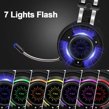 ALWUP PS4 Gaming Headphones for computer Xbox One Headset with mic PC Games Gamer headphone with microphone Playstation 4 Xbox 1 1