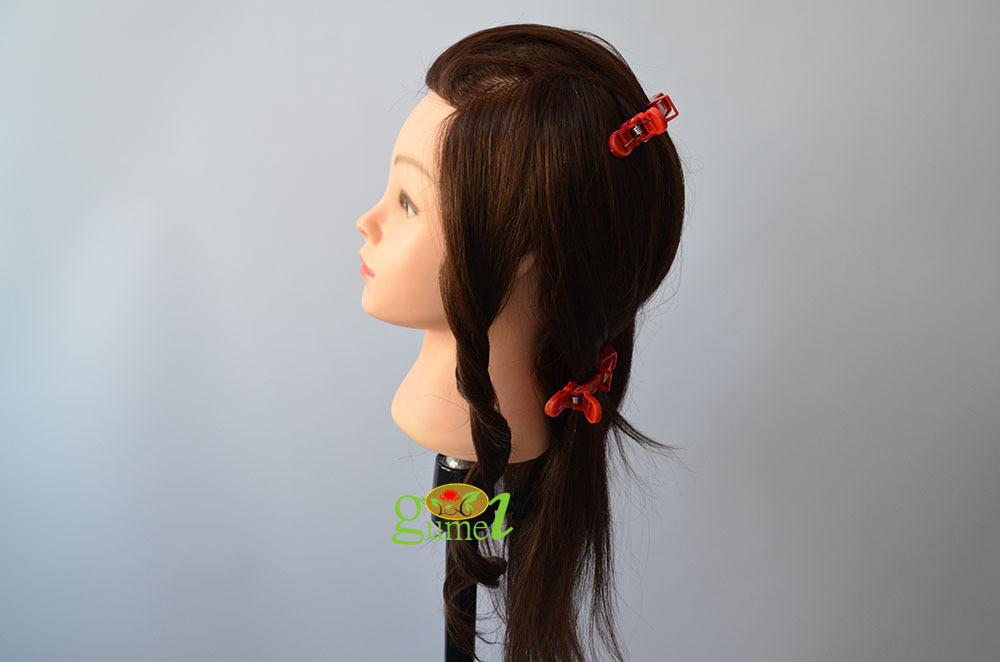 Free Shipping Mannequin Indai Hair Salon Hairdressing Mannequin Head Training Head On Sale