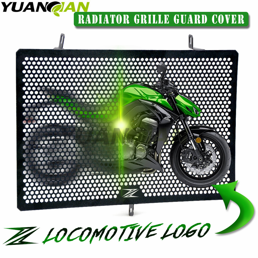 2017 New Arrival For Kawasaki Z750 Z1000 Z1000SX Z800 Stainless Steel Motorcycle Accessories radiator grille guard protection for kawasaki z750 z 750 2007 2015 2011 2012 2013 2014 stainless steel motorcycle black radiator grille guard protection cover