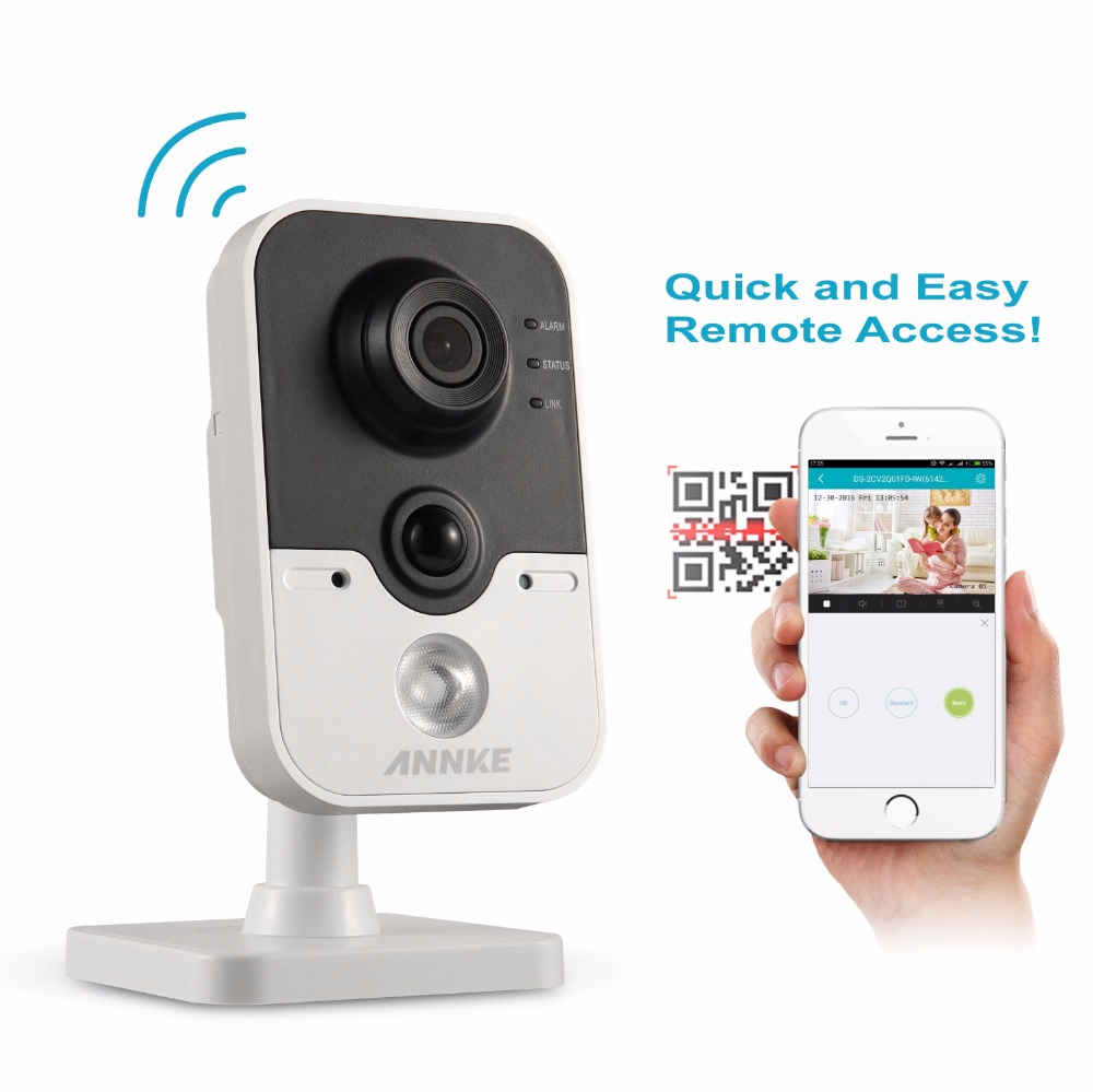 ANNKE HD 1080P Wireless IP Camera 2 0MP CCTV WIFI Camera Home Security Baby Monitor Two