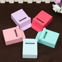 Cute 1Pcs 1/12 Scale Colorful Mailbox Ornaments Gadget Doll house Toy Miniature House Furniture Craft for Home Decor Kids Gift(China)