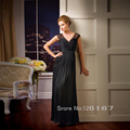 Best Selling Style 2017 Evening Dress Mother of the Bride Dresses Sleeveless Chiffon Long Formal Women Dress Sexy Gowns CGM37