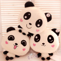 Hot sale 1pc 45cm cartoon sweet couple panda plush doll hold pillow 6 styles to choose stuffed toy children birthday gift