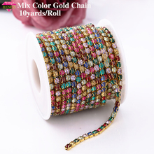 Buy rhinestone chain roll and get free shipping on AliExpress.com 343fc94884c9