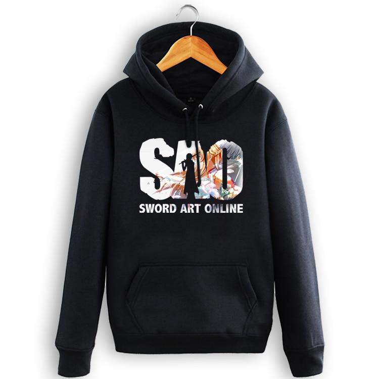 Sword Art Online Fashion Sao Pullover Hoodie Sweatershirt