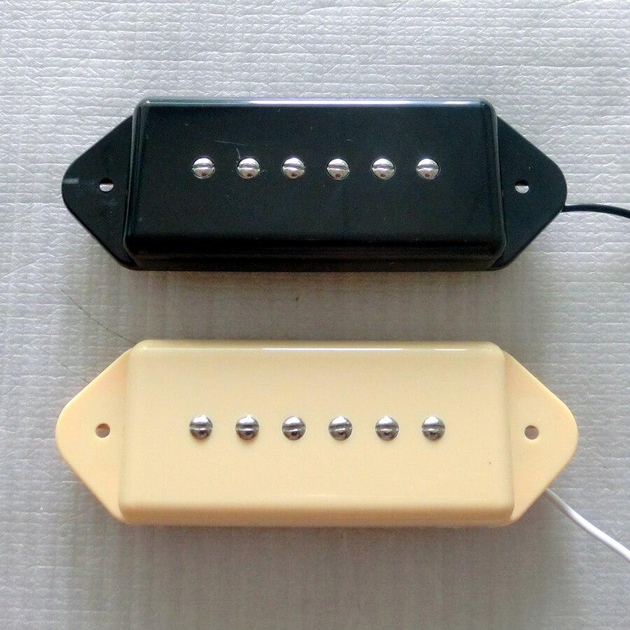 Kostenloser Versand gitarre teile N & B/SET Schwarz Iovry farbe single coil Alnico 5 P90 hund ohr gitarre pickup-in Gitarren-Teile und Zubehör aus Sport und Unterhaltung bei AliExpress - 11.11_Doppel-11Tag der Singles 1