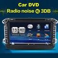 Авторадио VW JETTA GOLF 5 6 ПОЛО PASSAT CC TOURAN SHARAN TIGUAN SCIROCCO В ТИРЕ Автомобиля DVD Автомобильный Радиоприемник с Двойным 2din GPS Навигации