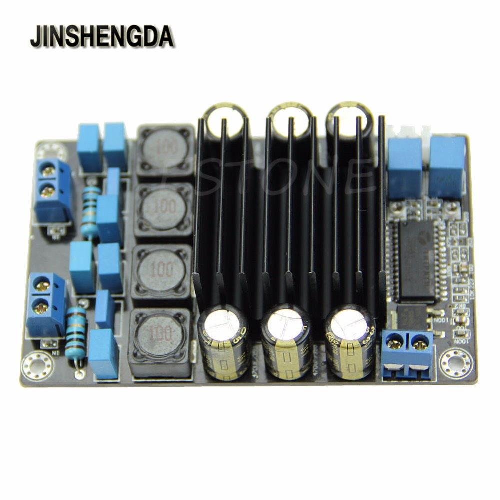 Jinshengda Amplifier Tp2050 Class D Amp Assembled Kit 50w Audio Irs2092 Circuit Lm1036 Tone Controlled Power Digital Board In From Consumer Electronics On