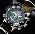 2016 AMST Brand Luxury Quartz Sport Clock Digital LED Wristwatch Army Military Watch Dive 50m Watches for Men Relogio Masculino