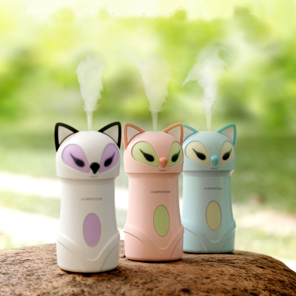 Cool Mist Fox Style Ultrasonic Humidifier Air Diffuser