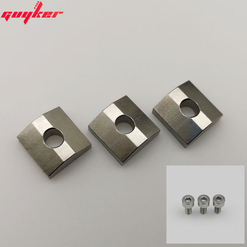FLASH SALE] Titanium alloy Bridge Saddles Type Square 10 5MM