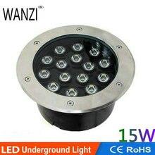 15 Вт 200* H90mm светодиодный подземный свет наружное освещение подземный светильник ландшафтный свет