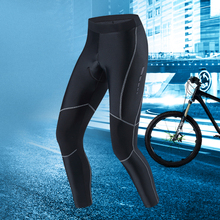 Santic Men Cycling Pants Pro Fit Coolmax 4D Pad Shockproof  Reflective Bicycle Anti-pilling Clothings Bike