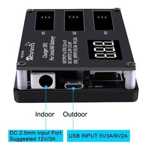 Image 5 - En Stock batterie dorigine pour Insta360 ONE X 1050mAh LiPo Batteries Insta360 ONE X chargeur Micro USB Qiuck chargeur de batterie Hub
