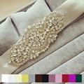 Hot sale Fashion Luxury crystal Rhinestone Flower Wedding Belt Sparkly Handmade Stunning Bridal sash belt Evening dress belt
