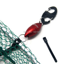 SAMSFX  Magnetic Landing Net Release Holder with Lanyard Fly Fishing Tool Gear