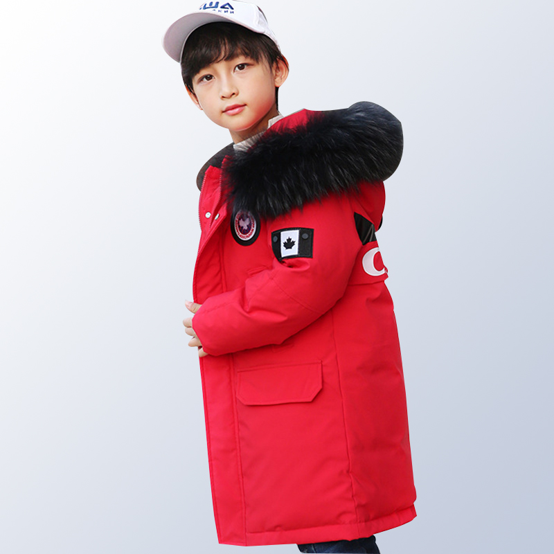 Toddler Boys Winter Jackets Coats Baby Children Winter Jacket Outwear Warm Coat Hooded Long Parka Jacket Age 6 8 10 12 14 Years new 2017 men winter black jacket parka warm coat with hood mens cotton padded jackets coats jaqueta masculina plus size nswt015