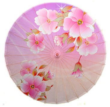 Free shipping Dia 84cm pink flowers blooming oiled paper umbrella Luzhou handmade women oiled paper umbrella lover gift umbrella dia 84cm chinese handmade craft umbrella arya avalokiteshvara painting parasol decoration gift dance props oiled paper umbrella