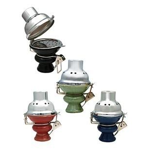 Hookah Wind Cover Ceramic Bowl ,Metal Charcoal Screen, Shisha  Bowl with Four colors
