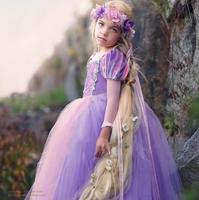 Christmas Girls Dress Movie Cosplay Costume Fairy Cinderella Princess Anna Dress Fancy Party Dresses Children Clothes