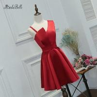 modabelle New Red Short Dresses Prom A Line Knee Length Vintage Prom Dresses 2018 Women Formal Evening Gowns Ball Kleid Damen