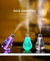 PB01 2 USB Ultrasonic Humidifier Home Office Mini Aromatherapy Colorful LED Night Light Bulb Aromatherapy Atomizer