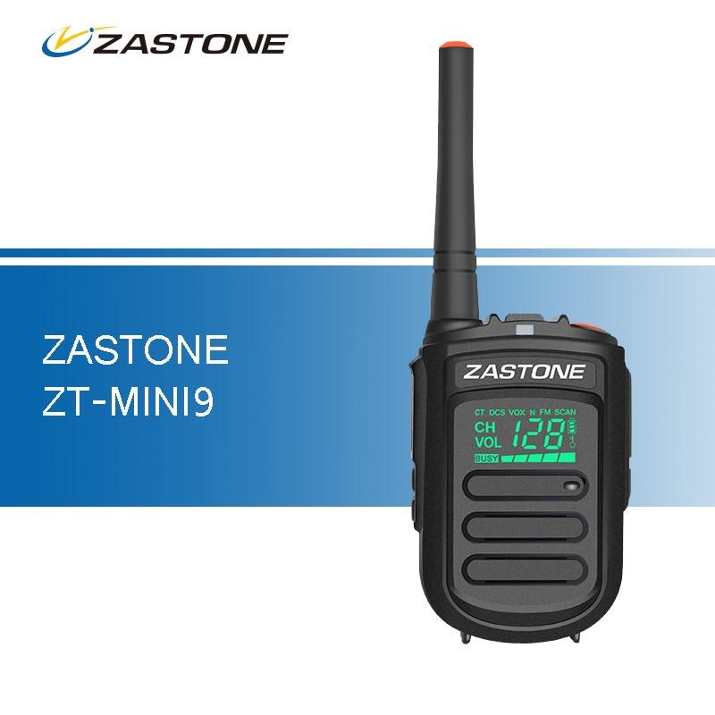 imágenes para Mini9 Zastone UHF 400-470 mHz Portable Mini Walkie Talkie de Mano de Dos Vías de Aficionados de Radio Comunicador de Radio de Jamón CB walkie-talkies