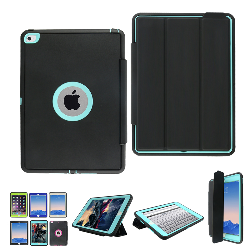 все цены на  Luxury Stand Smart Magnetic Case for Apple iPad Mini 4/Mini4 PU Leather Flip Shockproof Cover With bulit-in Screen Protector  онлайн