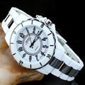 Ohsen de lujo de las mujeres relojes deportivos impermeables 7 multi-color de luz led reloj reloj relogio esportivo feminino