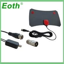 Eoth Free TVFox TVSurf Indoor HDTV Digital TV Surf Fox Antenna Cable Radius Antena DVB-T DVB-T2 VHF UHF Antenas Signal Receiver