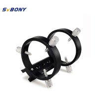 SVBONY SV116 Guiding Scope Ring Kit for Telescope Tube Diameter or Finders 43mm to 70mm w/ Pair Ideal for astrophotography F9187