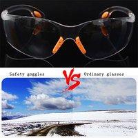 Confortável macio silicone nariz clipe de segurança ao ar livre olho óculos de proteção óculos esportes táticos óculos de proteção|Óculos p/ moto| |  -