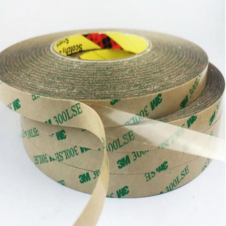2mm/5mm/3mm/8mm Choose, 3M 300LSE Super Strong Double Sided Adhesive Heavy Duty Tape For LCD Lens Digitizer 55M