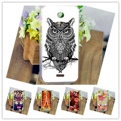 New Fashion Eiffel Tower Style TPU case For Micromax Canvas Turbo Mini A200 Perfect Design Brilliant Painting phone cover case