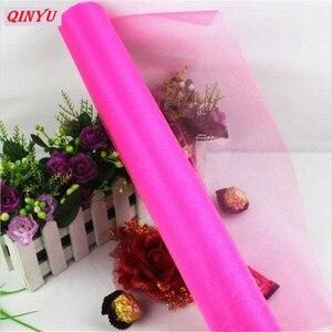 Image 4 - Rouleau de Tulle Organza cristal pour robe Tutu, bobine de 72CM * 10M, pour fête mariage ou anniversaire, 8zSH015