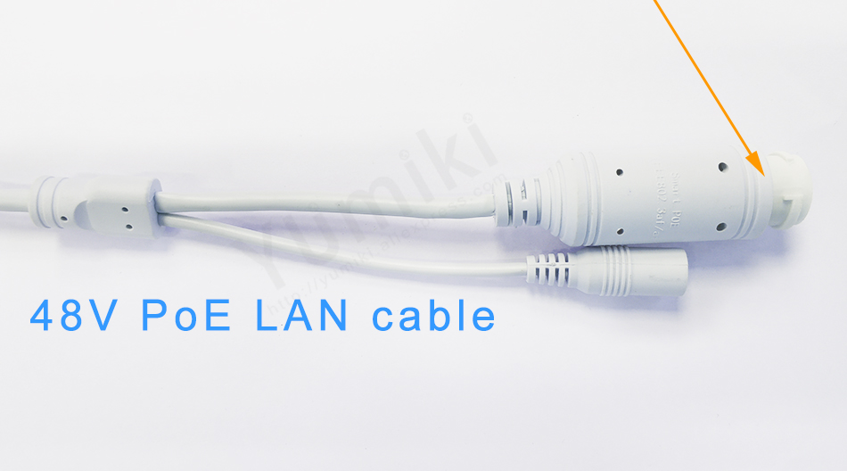 48V Poe Cable For IP Camera