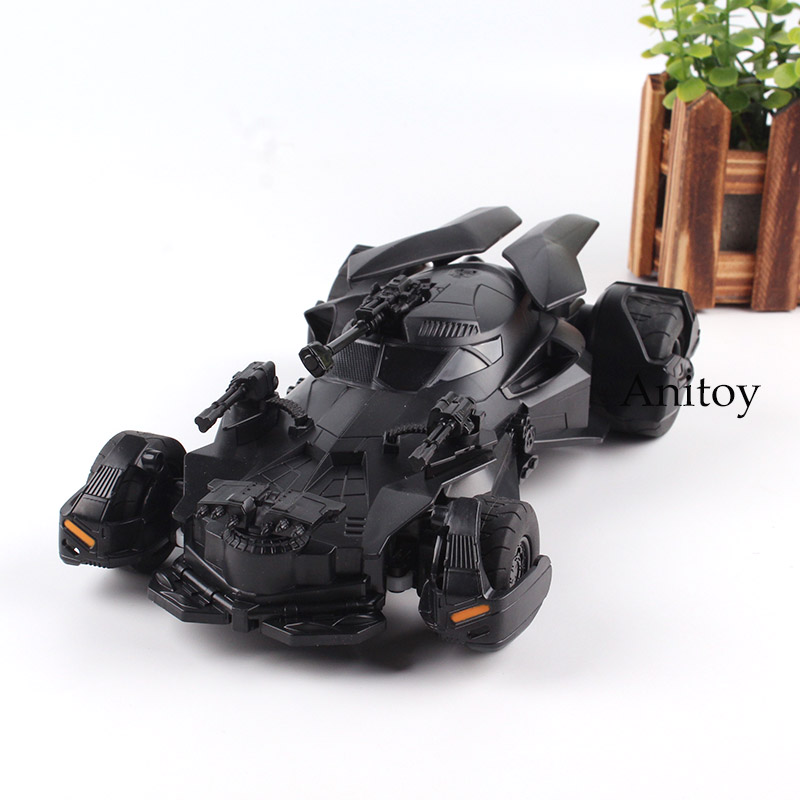 DC Comic Justice League Batman Vehicle RC Batmobile Action Figure Toy for Boys 25cm anime playarts dc justice league batman batwoman pvc action figure collectible model toy chirstmas gift 25cm