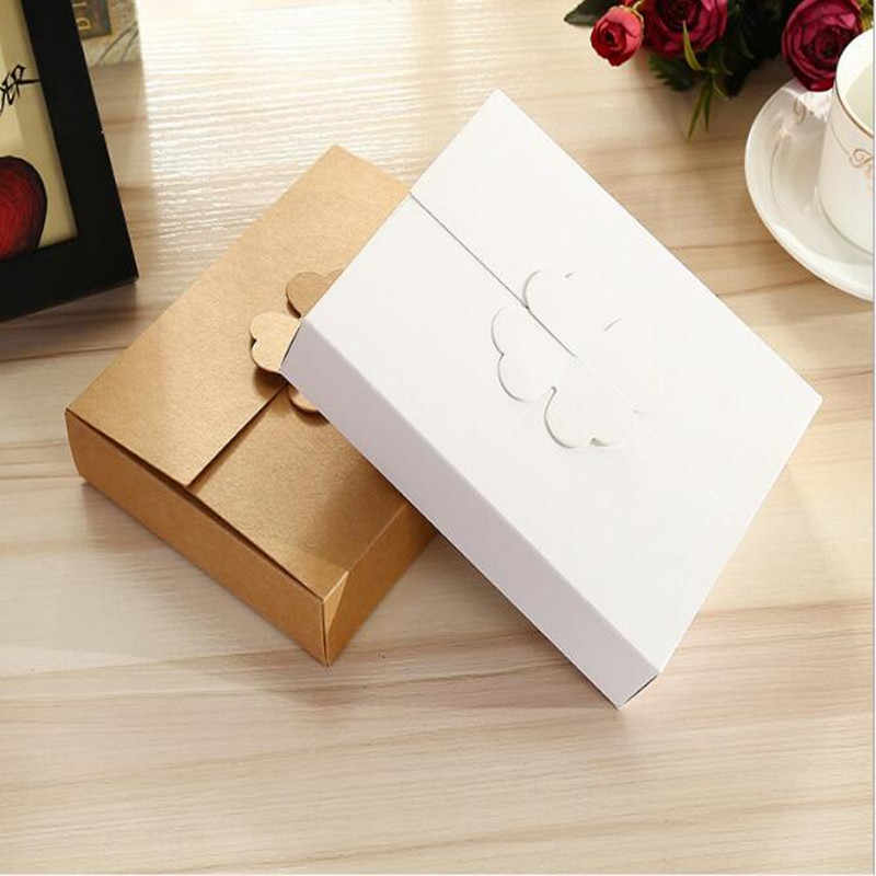 15.5x15.5x3cm,Kraft paper box ,Cake box /Cookies biscuit packaging box,Christmas cardboard gift box,35pcs/lot