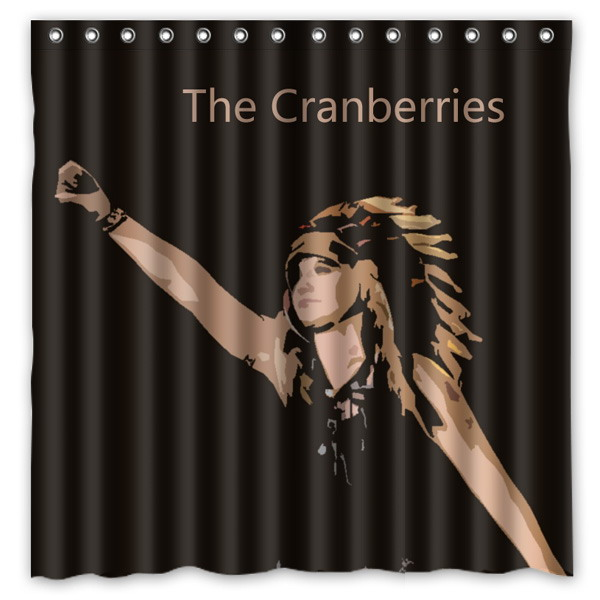 The Cranberries Pattern Creative Bath Shower Curtains Bathroom Waterproof Polyester Fabric Curtain 180x180cm In From Home Garden On