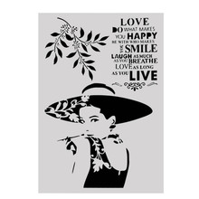 A4 Size DIY Craft Layering Stencil Template For Wall Painting Scrapbooking Stamping Album Decorative Embossing Paper Cards