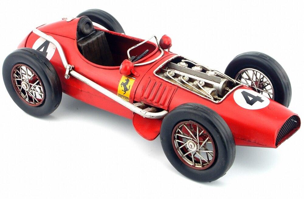 Ev ve Bahçe'ten Heykelcikler ve Minyatürler'de Vintage demir model 1958 nostaljik araba dekorasyon araba antika eski el sanatları'da  Grup 1