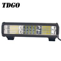 TDGO Led Light Bar ATV Offroad Motorcycle Automobile Barra 72W 12 inch Light For Jeep Hyundai DRL 12V Off Road New Light 2018