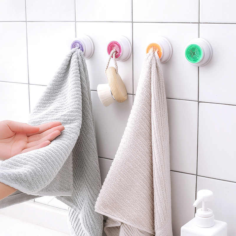 1 PC wygodne do przechowywania w kuchni haki do mycia wieszak haki na ręczniki frajerem ściany okno łazienka narzędzie wielofunkcyjne Robe haki