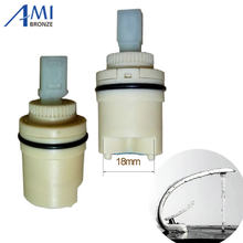 55mm x 24mm Hot Air Dingin Pengalir cartridge keramik penggantian aksesoris keran mixer valve(China)