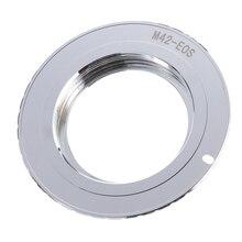 9 세대 af 확인 칩 어댑터 링 m42 렌즈 용 캐논 eos 750d 200d 80d 1300d