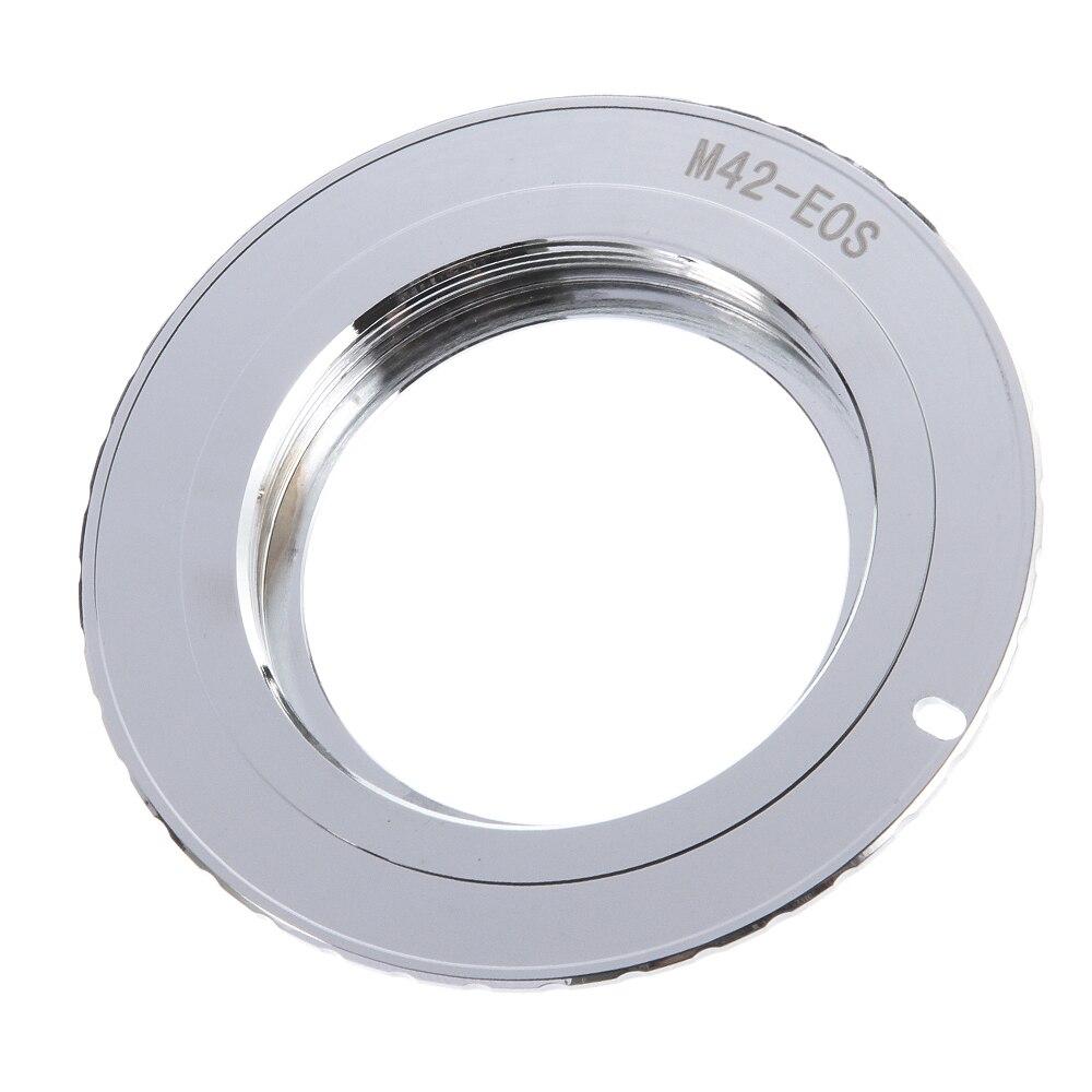 9 génération AF confirmer w/puce adaptateur anneau pour objectif M42 à Canon EOS 750D 200D 80D 1300D
