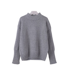 New Arrival Winter Sweaters Women Pullover Warm Knitting Pullovers For Female Autumn Soft Short Sweaters Oversized Clothes S256