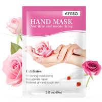 Efero 2 paar = 4 stücke Feuchtigkeitsspendende Hand Maske Paraffin Wachs Peeling Maske für Hand Pflege Erweichen Schwielen Bleaching Handschuhe hand Creme