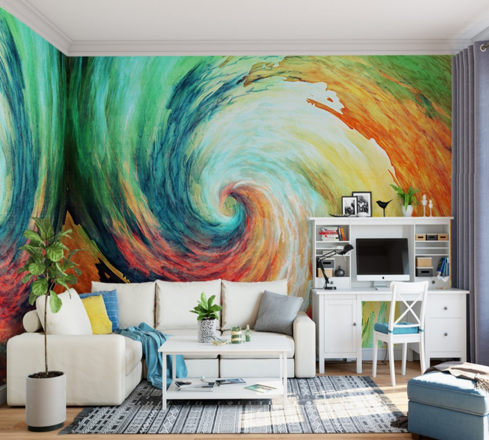 Free Shipping Art Painting Abstract Interior Background